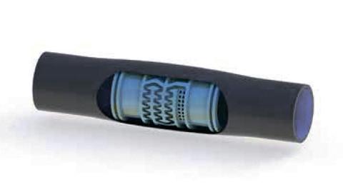 Многолетняя трубка с цилиндрическим эмиттером (Ø 20 мм)