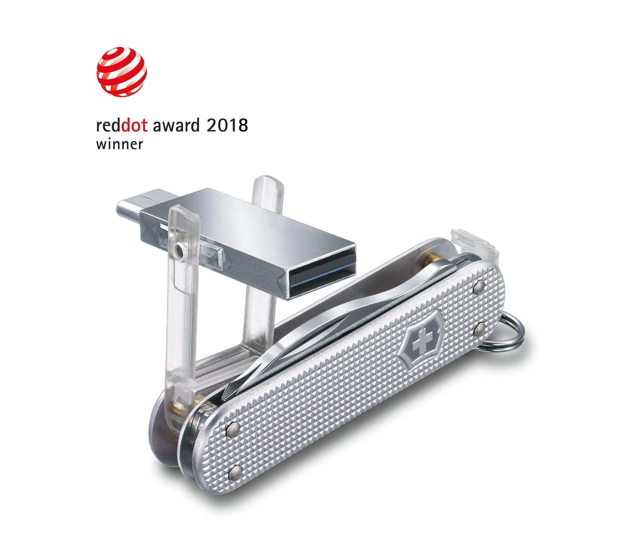 Нож-брелок Victorinox с USB-модулем Jetsetter@work (4.6261.26G16B1) 58 мм. в сложенном виде, 6 функций - Wenger-Victorinox.Ru