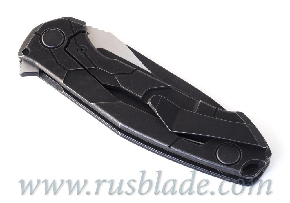 CKF T14B (new T90) knife - Alexey Konygin, M390, Copper, Ti - фотография
