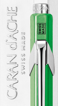 Carandache Office 849 Pop Line - Green, шариковая ручка, M