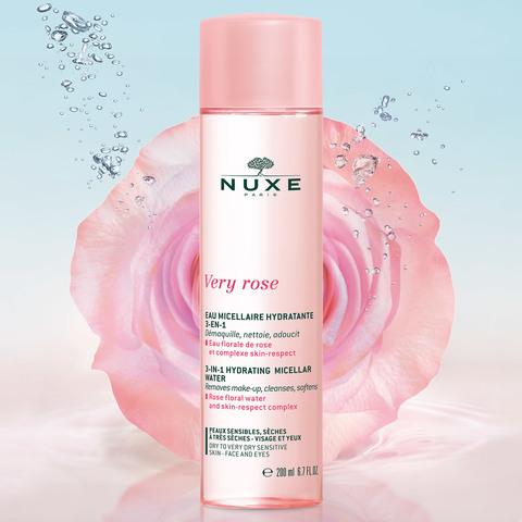 Nuxe Увлажняющая мицеллярная вода для лица и глаз 3 в 1 VERY ROSE
