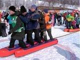 Гигантские лыжи