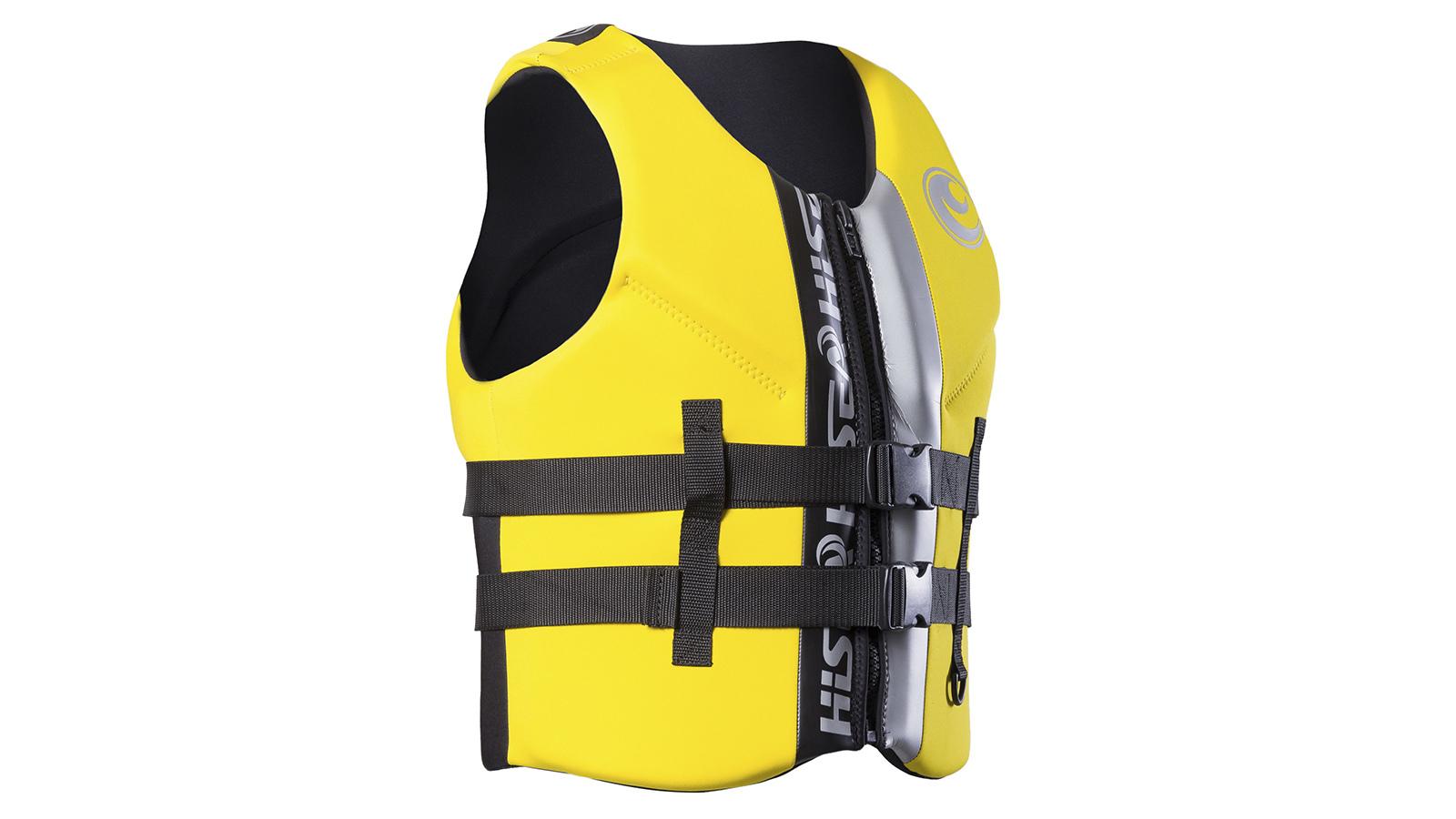 Плавательный жилет HiSEA желтый