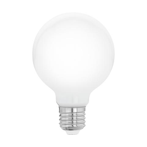Лампа  LED филаментная из опалового стекла  Eglo MILKY LM-LED-E27 5W 470Lm 2700K G80 11597