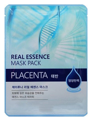 Тканевая маска с экстрактом плаценты Juno Jluna Real Essence Mask Pack, Placenta
