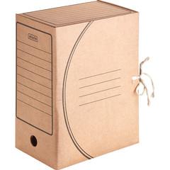 Короб архивный Attache Economy гофрокартон бурый 150x240x320 мм (5 штук в упаковке)