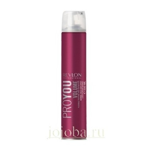 REVLON ProYou Styling: Лак для объема нормальной фиксации (Volume Hairspray), 500мл