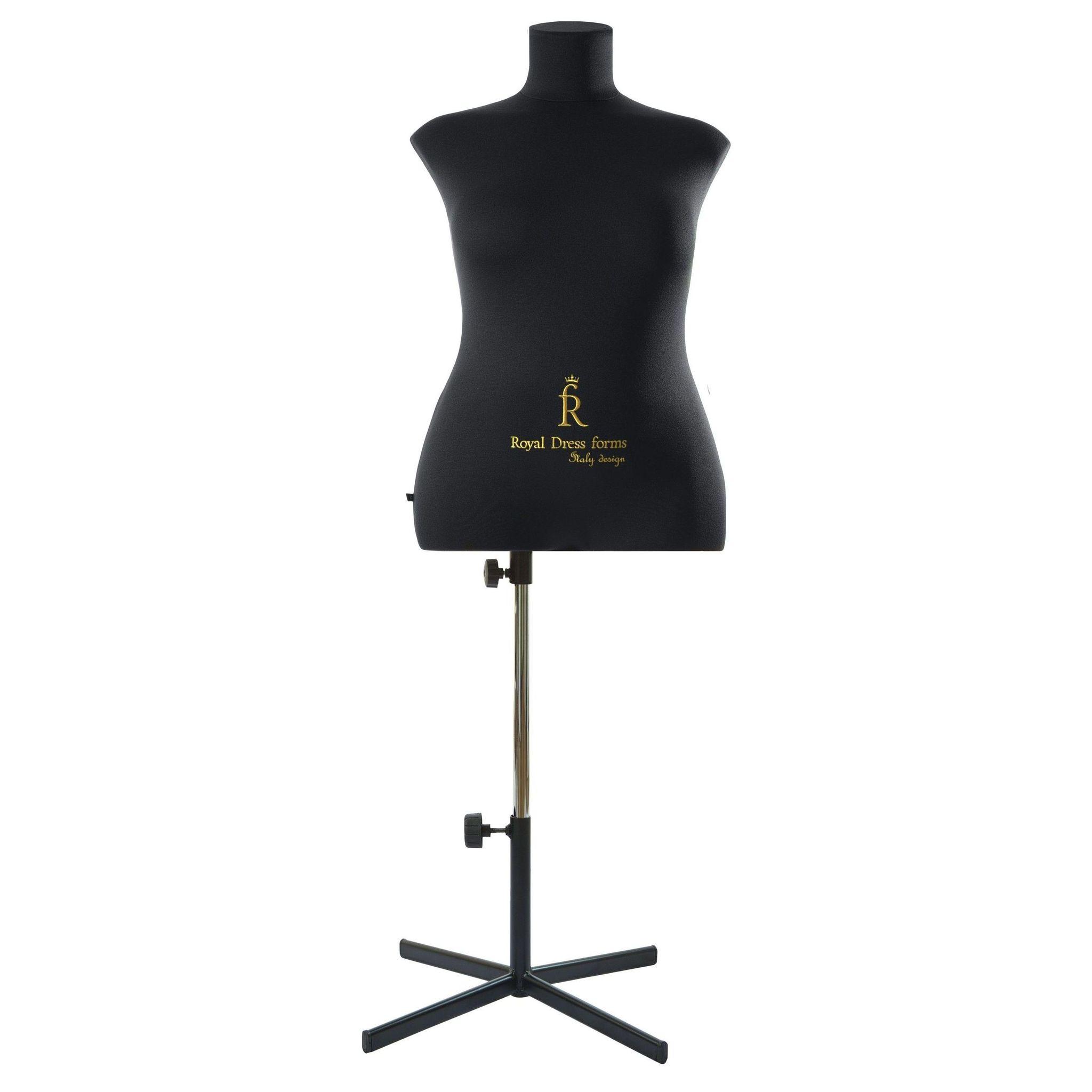 Манекен портновский Кристина, комплект Премиум, размер  52 ЧерныйФото 2