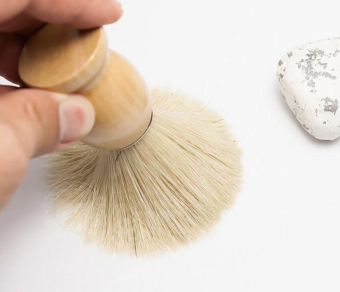 RAZ302-3 Помазок для бритья с деревянной рукояткой фото 06