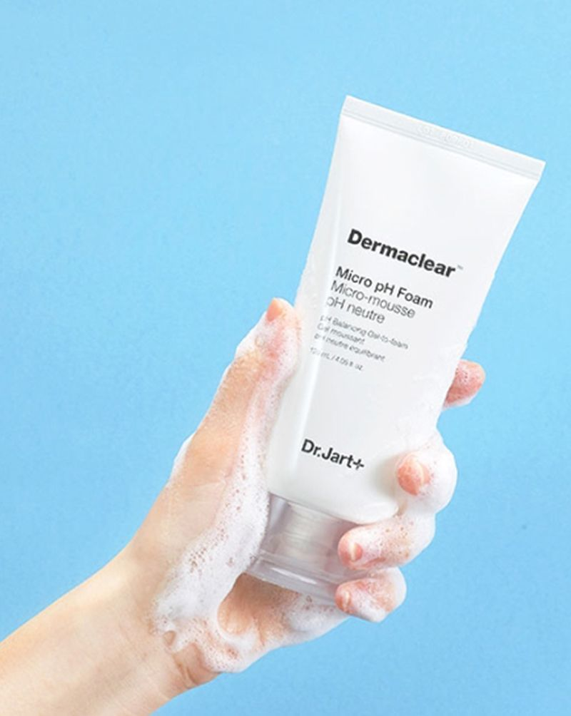 Dr.Jart+ Dermaclear Micro pH Foam очищающая пенка для лица pH регулирующая 120мл