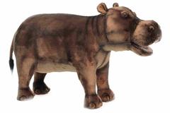Hansa Мягкая игрушка, банкетка Бегемот 80 см (6082)