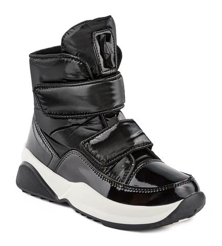 Jog Dog ботинки Algea (черный флеш) для девочки