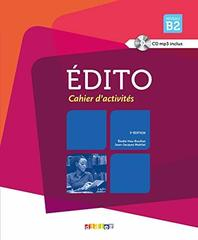 Edito B2 NEd Cahier + CD
