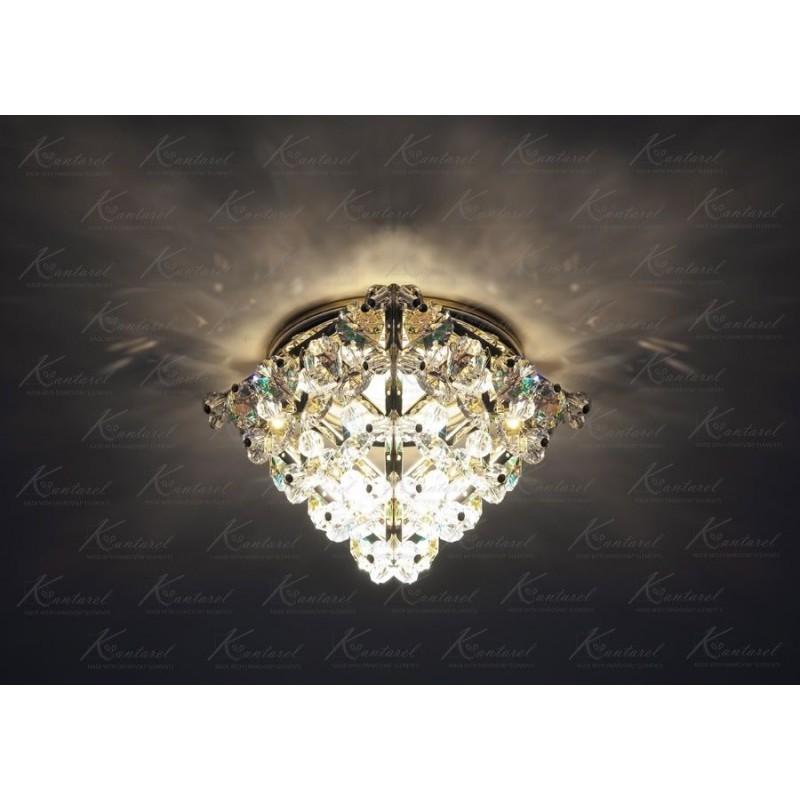Встраиваемый светильник Kantarel Cairo CD 016.3.1 crystal AB(8502)