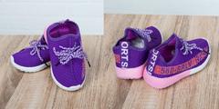 Обувь дет. № 6 Детские Кроссовки 580SPLV  Сиреневые