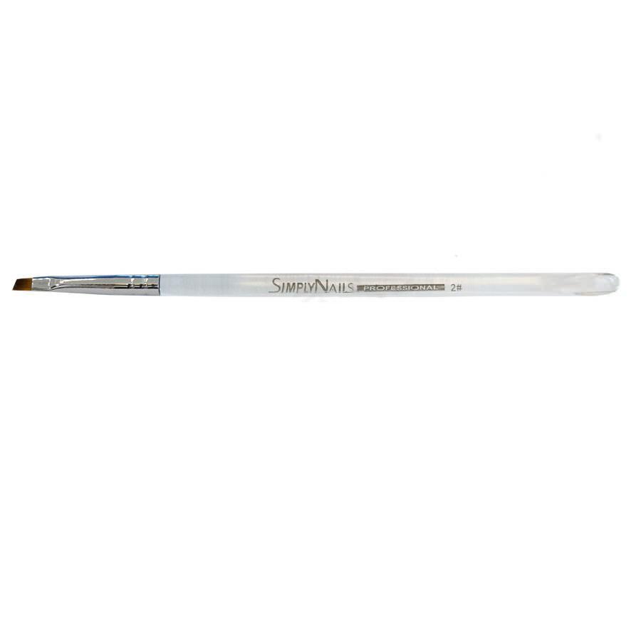 Для геля Кисть гелевая прозрачная ручка № 2 - скошенная 9adf3f11f186e113c1703067cc8cd2bd.jpg