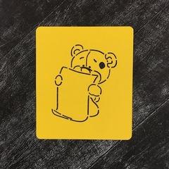 Мишка ученик №2