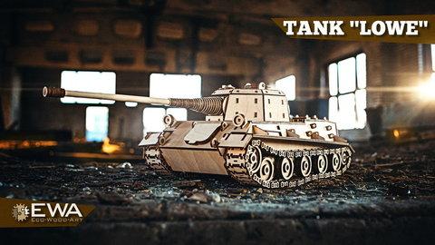 Немецкий сверхтяжелый танк Лев (Löwe) (EWA)