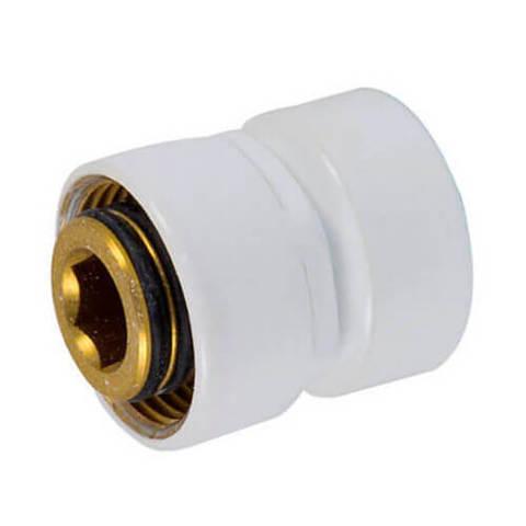 Резьбовое соединение для стальных труб белое GW M22x1,5 x GW 1/2