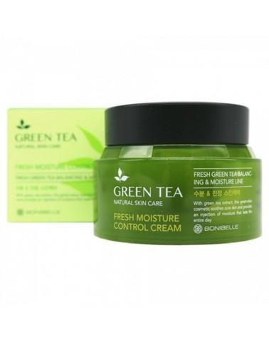 Крем для лица с экстрактом зелëного чая