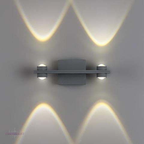 Уличный настенный светодиодный светильник 358571 серии CALLE