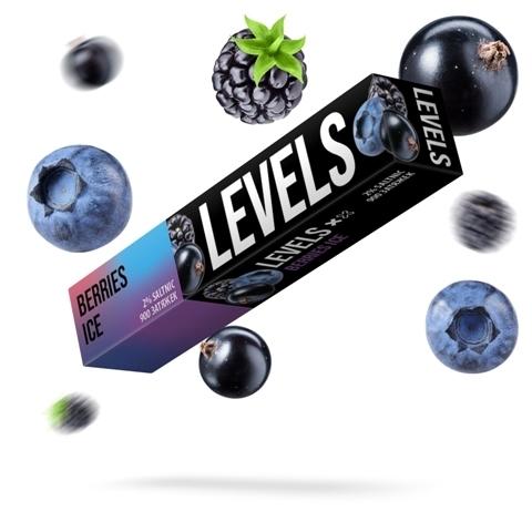 LEVELS (900 затяжек) Berries Ice - Ягоды с Холодком