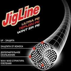 Леска плетеная MOMOI JigLine Ultra Light зелёная 100 м 0,04 мм 2,4 кг