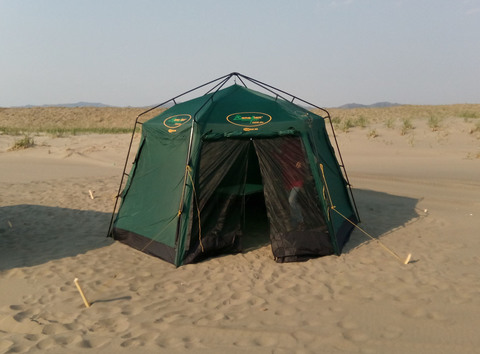 Шатер Canadian Camper ZODIAC Plus, цвет woodland