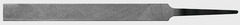 Ключевой напильник, насечка 2 длина 150 мм