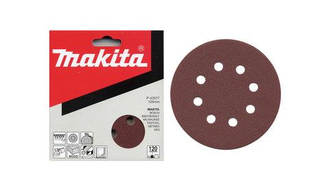 Шлифовальный диск с липучкой Makita P40/125 мм