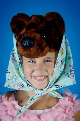 Карнавальная шапочка Медведицы