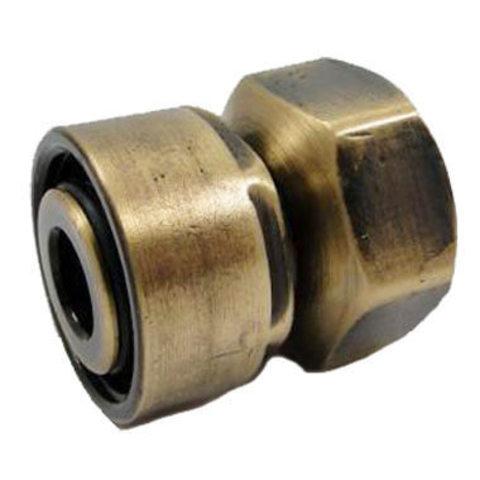 Резьбовое соединение для стальных труб античная латунь GW M22x1,5 x GW 1/2