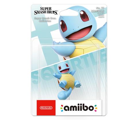 Фигурка Amiibo: Super Smash Bros. Squirtle || Сквиртл