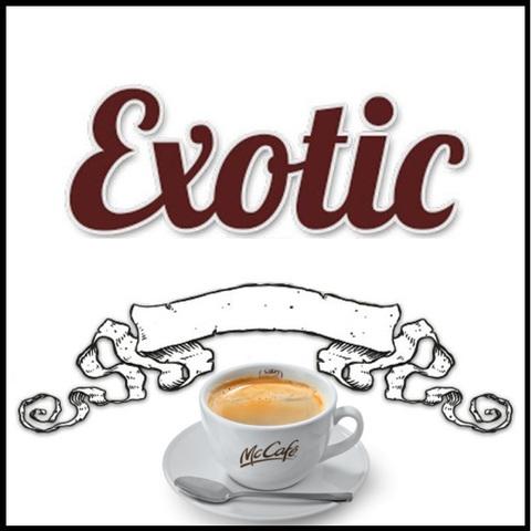 Ароматизатор Exotic 10 мл Premium Белый Кофе