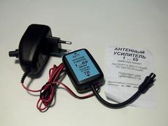 Усилитель ТВ сигнала 1-69 с регулировкой
