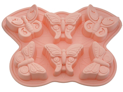 """6661 FISSMAN Форма для выпечки """"Бабочка"""" 32x23x3,8 см"""