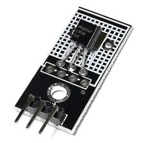 Модуль аналогового датчика температуры LM35DZ