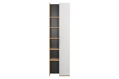 Шкаф комбинированный Гравити 10.08 Моби гикори рокфорд натуральный/белый/черный