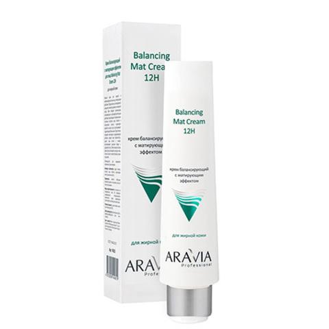 Крем для лица балансирующий с матирующим эффектом 100мл, ARAVIA