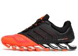 Кроссовки Мужские Adidas Spring Blade Black Orange