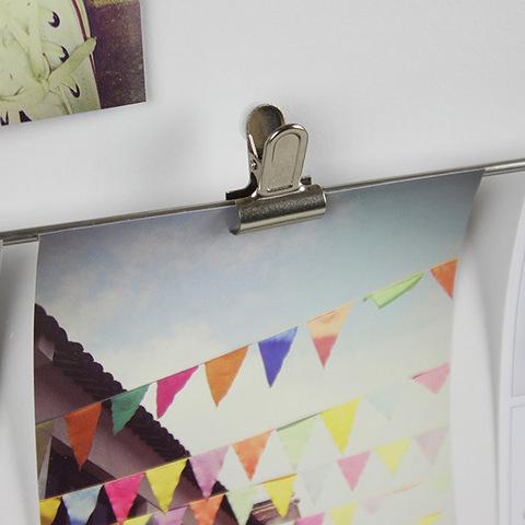 Панно с зажимами для фотографий clipline