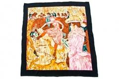 Итальянский платок из шелка картина 0201