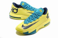 Nike KD 6 'Yellow/Green'