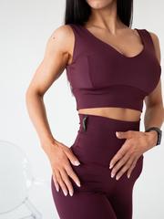 Мини-топ женский Lion gym ULTRACLASSIC BORDO