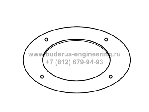 Дроссельная диафрагма дымоудаления для Buderus Logamax U072 35кВт