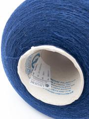 Кашемир 30% с мериносом 70%  LINSIEME Nobel 2/28 насыщенный синий
