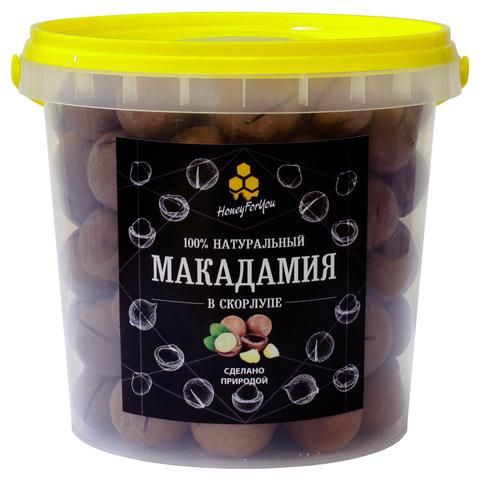 Макадамия в скорлупе HoneyForYou, 550 грамм