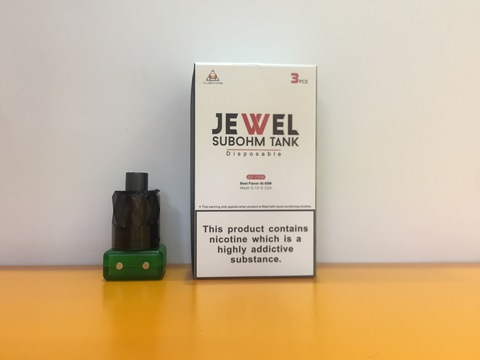 Бак Jewel Subohm Tank by Augvape 0.15ohm 3ml