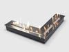 Угловой топливный блок LUX FIRE 500x500 M