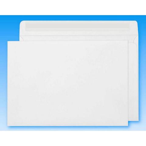Конверт Ecopost C4 90 г/кв.м белый стрип (250 штук в упаковке)